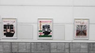 2017年9月16日 JR高崎車両センター「ありがとう107系」パネル掲出 107系 115系(新前橋駅から撮影)