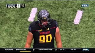 Maryland Recovers Rudock Fumble vs. Michigan