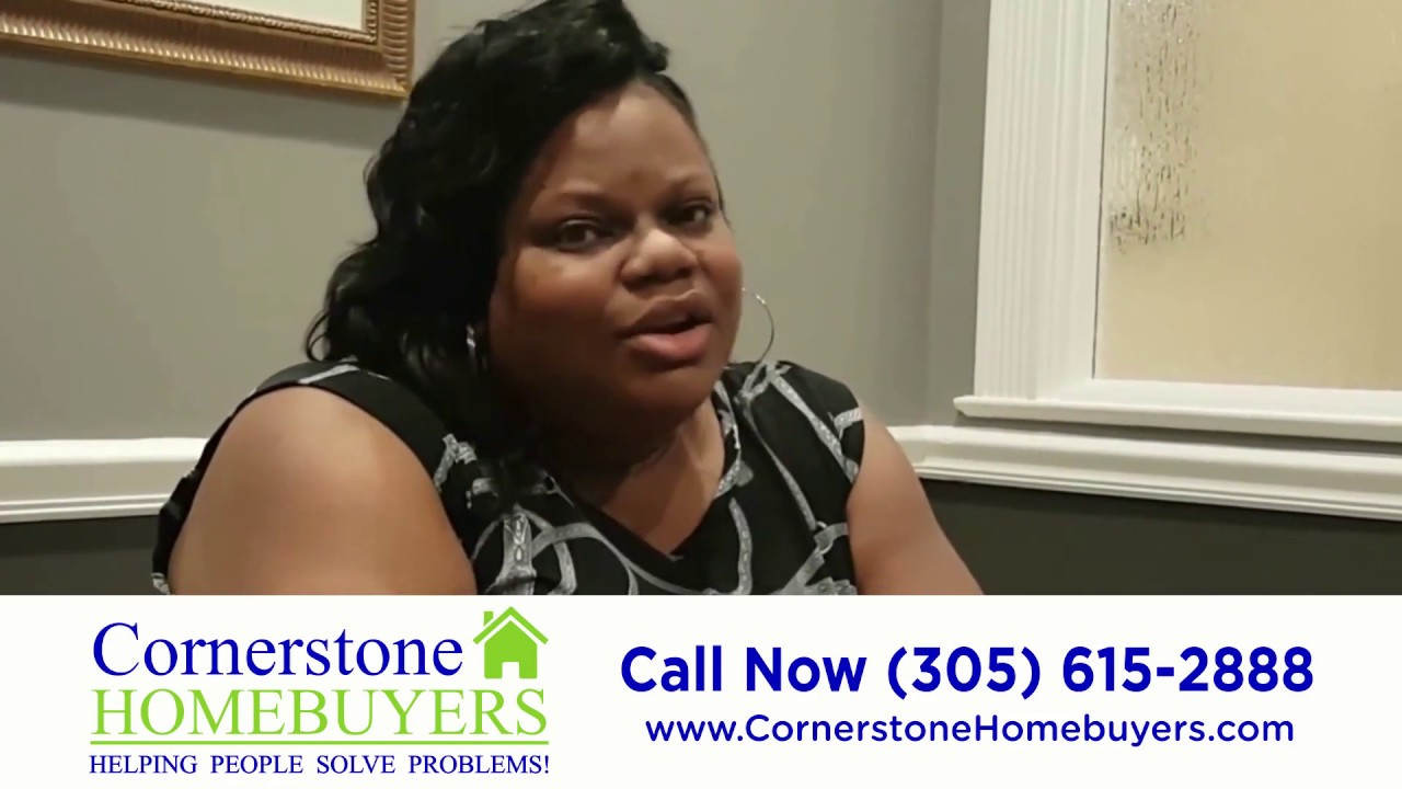 Cornerstone Homebuyers Review - Sell Miami House In Foreclosure - We Buy Miami Houses