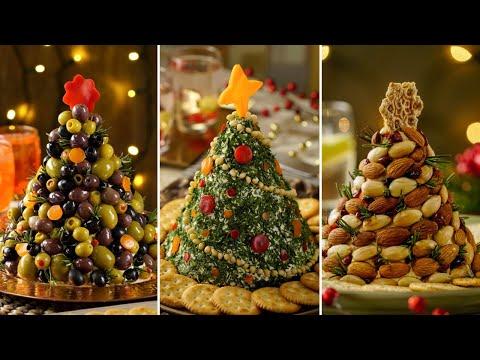3 Dips en Forma de Arbolito | Recetas para Navidad
