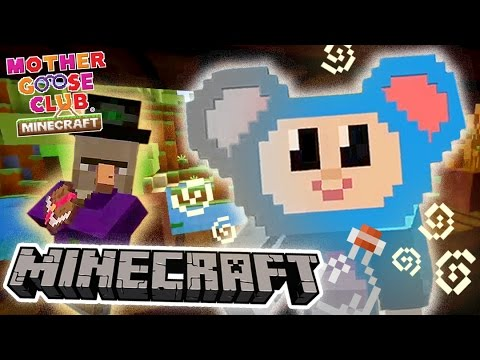 Eep and the Witch | Scary Magic Color Attack | Mother Goose Club Minecraft
