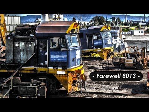Farewell 8013 | Scrapping Footage | Port Kembla