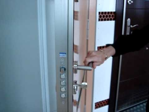 Puerta kiuso cerradura antip nico uso dom stico youtube - Puertas kiuso ...