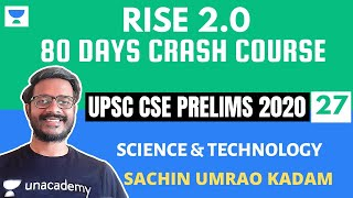 L27: Biotechnology and its Applications - II | Science and Technology | Crash Course Prelims 2020