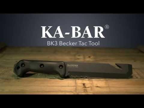 KA-BAR Becker BK3 Becker Tac Tool