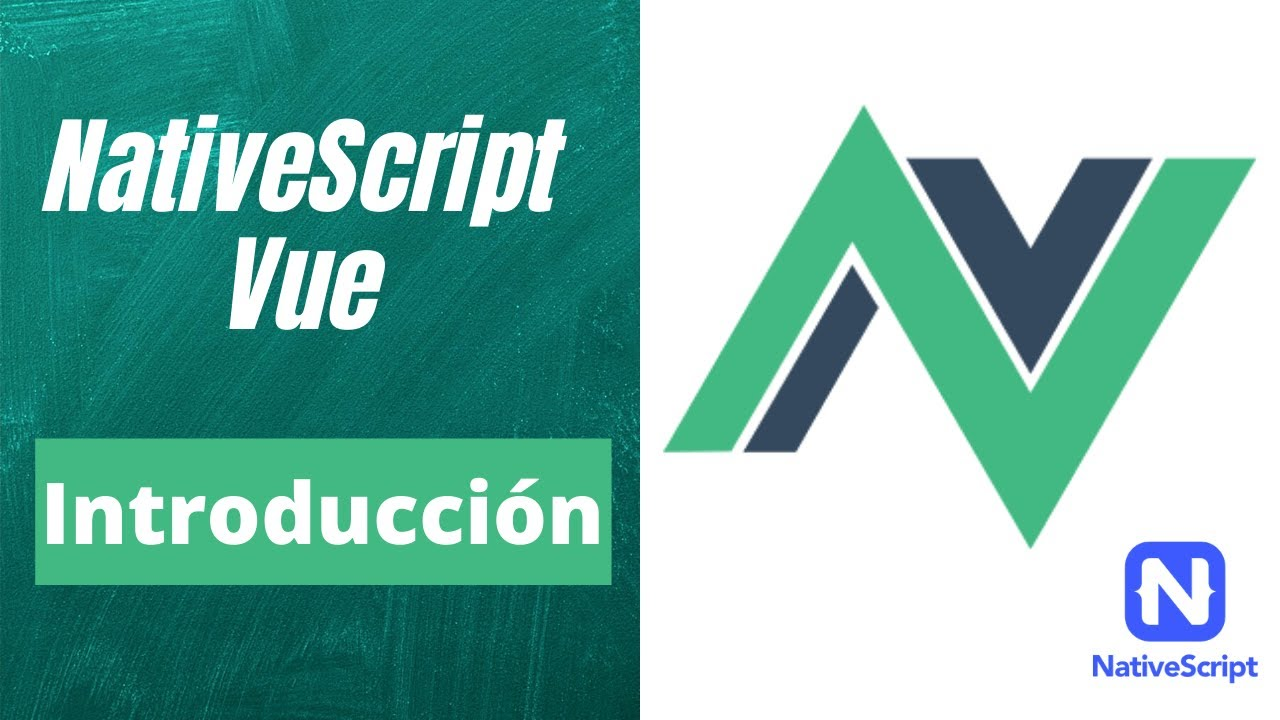 NativeScript Vue Introducción - Creando Apps Móviles Nativas con Vue.js