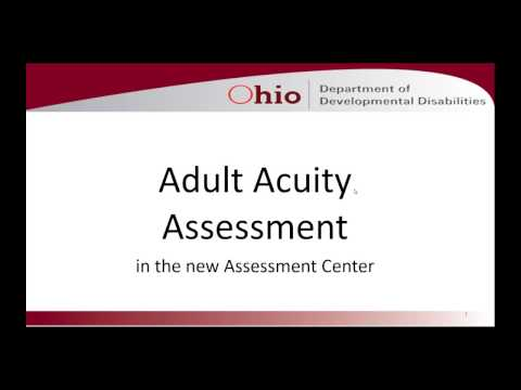 Adult Acuity Assessment (3/22/2017)