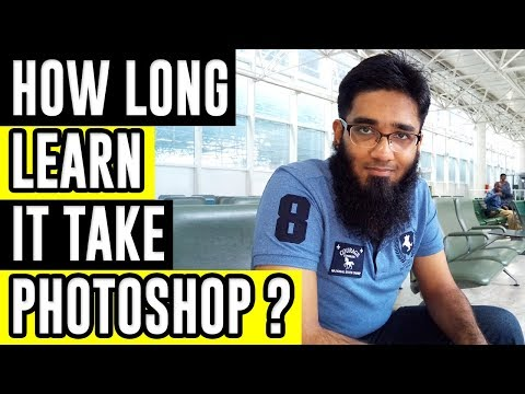 How Long it Take to Learn Photoshop ?