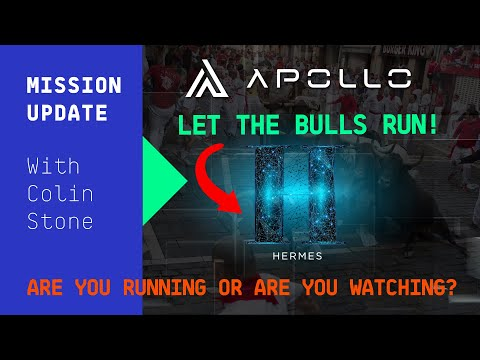Mission Update #93 - Apollo Currency, will you run with the bulls?