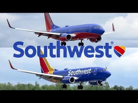 Two (2) Southwest 737-700 (B737) landing in Albany (ALB)