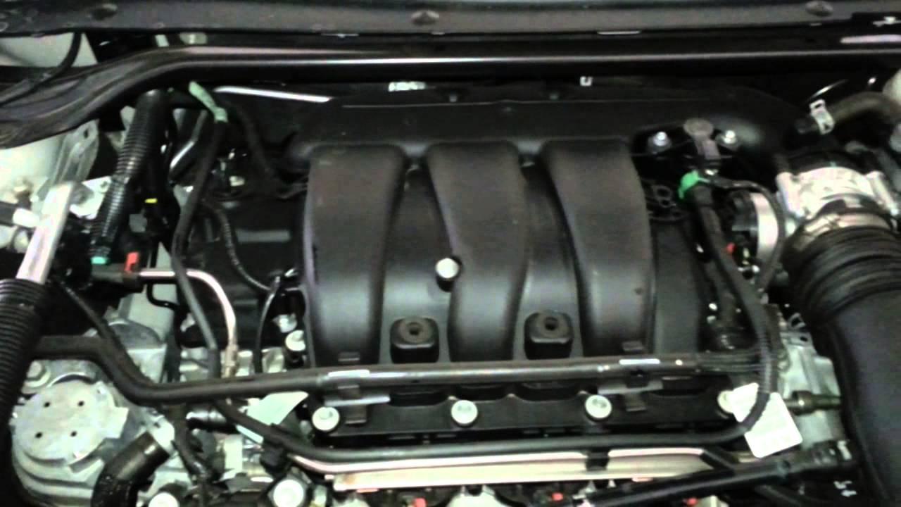 2013 Ford Taurus Engine Diagram Wiring Schematic 2019 2014 Fuse Box Limited Sedan Duratec 35 3 5l V6 Idling Rh Youtube Com