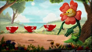🌹🐞 Cuphead - Floral Fury - Cagney Carnation Bugged Boss Fight Guide Walkthrough