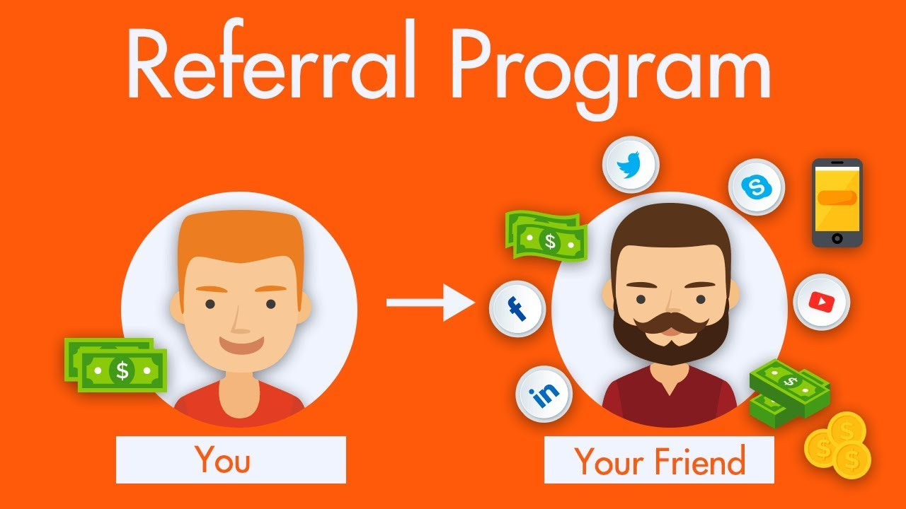 10 Proven Ways To Earn $10,000 Per Month Online, Using What You Already Know - referral program