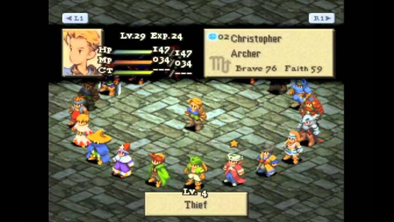 Final Fantasy Tactics Part 13 - Let's Choose a Job. - YouTube