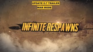 PUBG MOBILE UPDATE 0.7 TRAILER, WAR MODE TRAILER