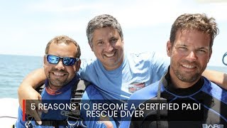 The PADI Rescue Diver course is one of the most rewarding co image