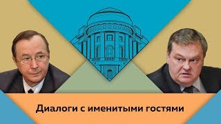 """Н.П.Бурляев и Е.Ю.Спицын в студии МПГУ. """"Мое кино: фильмы и люди"""""""