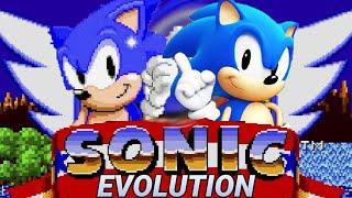 Evolution of Sonic Games 1991-2019