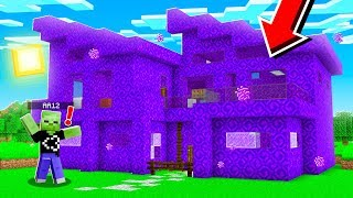 Turning My Friend's House Into PORTALS *PRANK* in Minecraft PE! (Realms SMP - Episode 15)