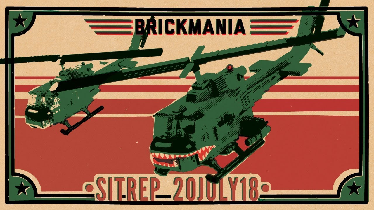 Brickmania SitRep – 20 July 18 - hmong video