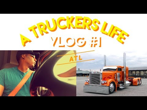 Vlog #1/ New Truck / A Truckers Life