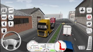 Euro Truck Evolution #1 - Truck Game Simulator Android iOS gameplay