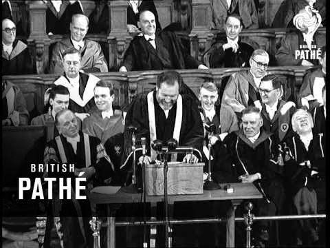 Selected Originals - Rector Of Edinburgh University (1958)