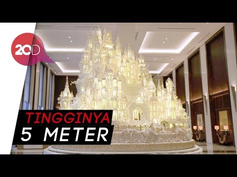 Megahnya Dummy Cake Pernikahan Pangeran Harry Buatan Cakery Indonesia