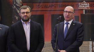 Михаил Пореченков обсудил в Нижнем Новгороде организацию будущего фестиваля полнометражного кино