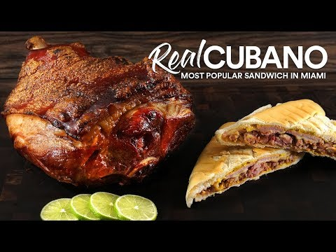 How I Master  REAL CUBANOS Sandwich! | Guga Foods