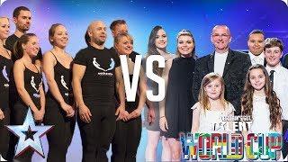 Attraction vs Côr Glanaethwy | Britain's Got Talent World Cup 2018