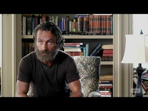 The Walking Dead 5x12 Rick Grimes interview