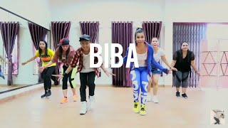 Marshmello x Pritam - BIBA ft. Shirley Setia (Choreography) ZUMBA Bollywood At NIO Studio Balikpapan