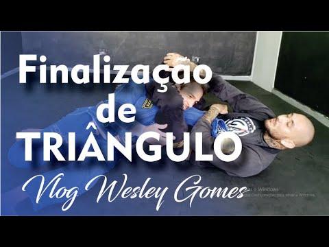 Jiu-Jitsu - Finalização de triângulo - Wesley Gomes - BJJCLUB