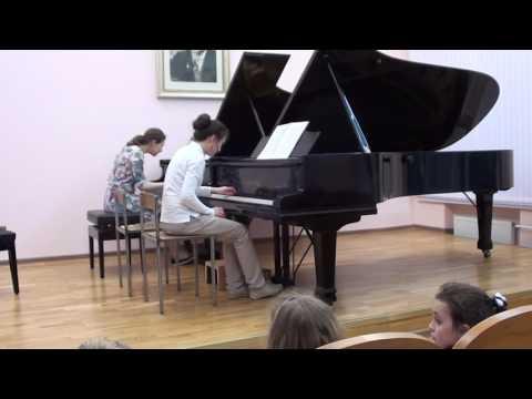 Хиндемит, Пауль - Соната для двух фортепиано
