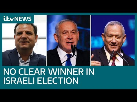 Israeli elections end without consensus, fuelling Benjamin Netanyahu's corruption woes | ITV News