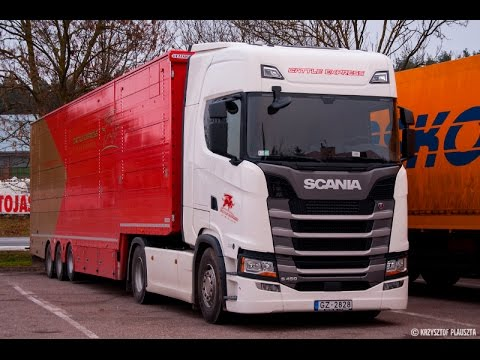 2016 new scania s450 highline on the road nowa scania. Black Bedroom Furniture Sets. Home Design Ideas