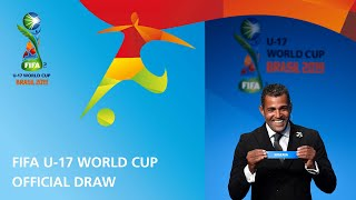 Фото Relive Draw For The Fifa U-17 World Cup Brazil 2019