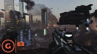call of duty advanced warfare e3 2014 gameplay demo microsoft press conference