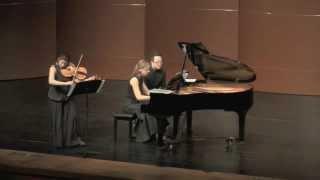 Esra Pehlivanli - Anastasia Safonova / R.Clarke Sonata for Viola & Piano (excerpts)