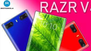 Motorola RAZR V4 has a new concept smartphone