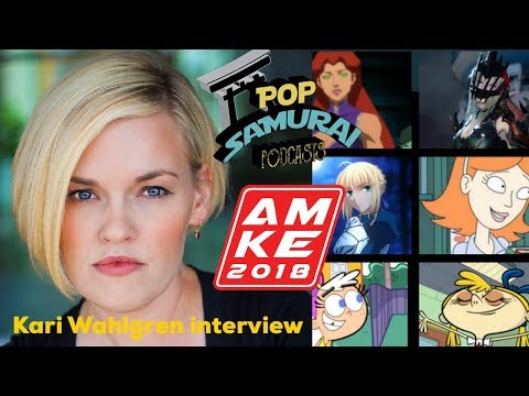 Anime Milwaukee 2018- Kari Wahlgren Interview!