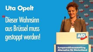 Uta Opelt l EU-Wahl