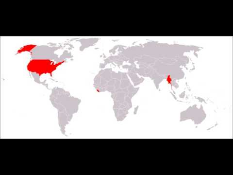 Which countries do not use the metric system