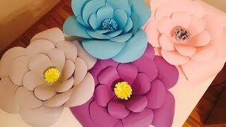 Download lagu 9. Cum sa faci flori gigante din hartie -  How to make giant flowers out of paper