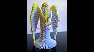 3d Origami Angel Tutorial