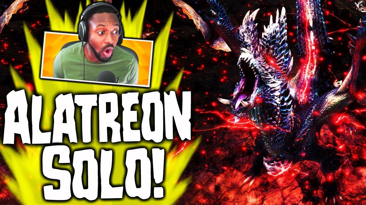 Mhw Iceborne Alatreon Defeated Solo Black Dragon New Elder