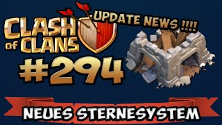 CLASH OF CLANS #294 ★ UPDATE NEWS: NEUES STERNESYSTEM ★ Let's Play COC ★ | German Deutsch HD |