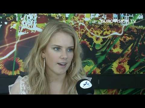 Yohanna from Iceland talked to us about the 2009 Eurovision Song Contest