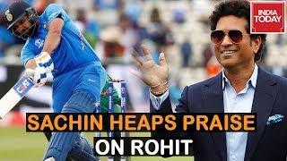 Rohit Sharma Played Chess With Bangladesh Bowling Attack, Says Sachin Tendulkar